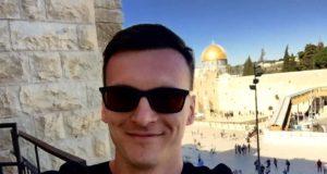 Łukasz Czarnota w Izraelu