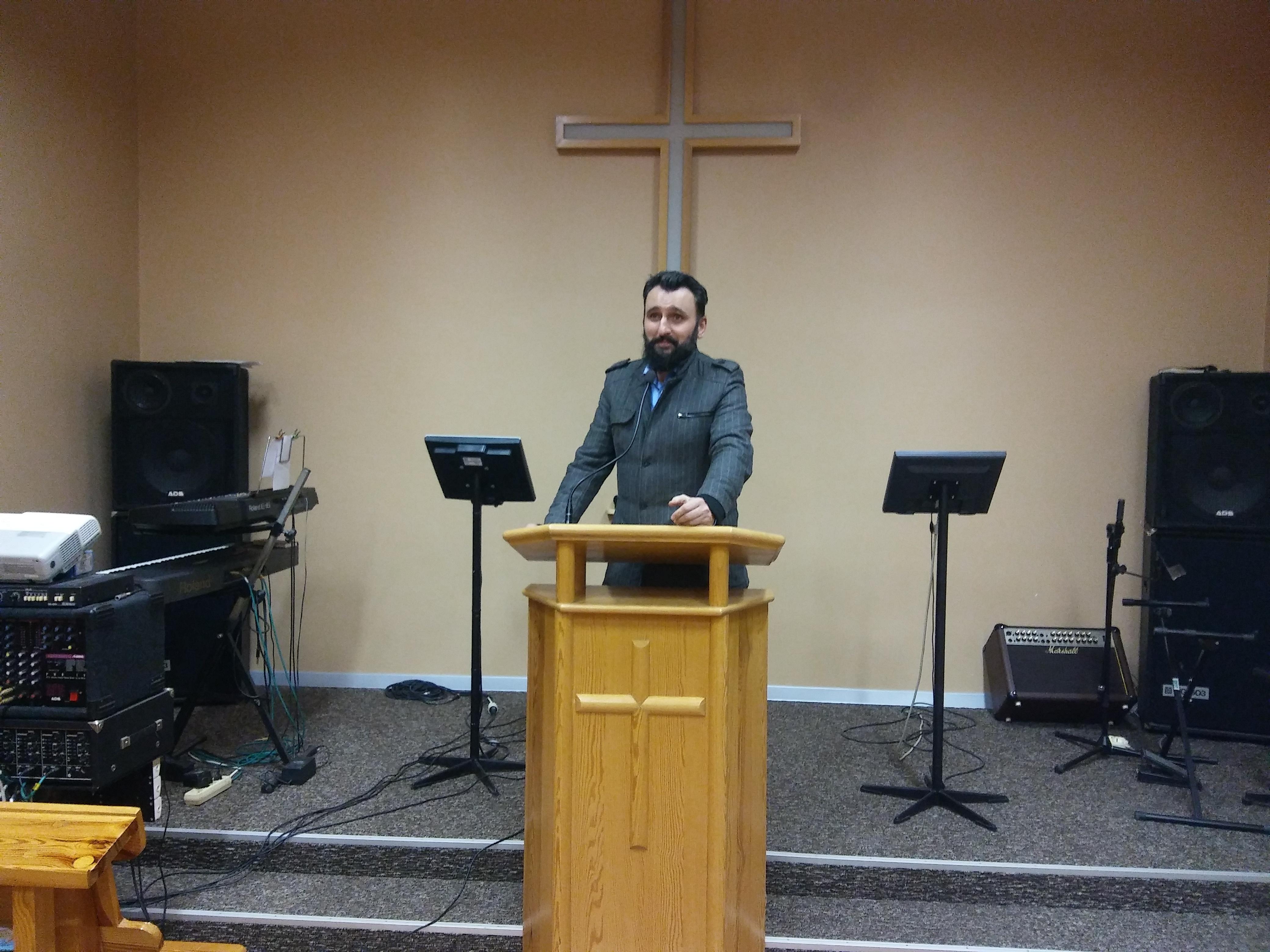 Brat Dariusz Pacan z organizacji Open Doors