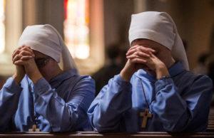 Zakonnice modlą się by aborcja była nielegalna