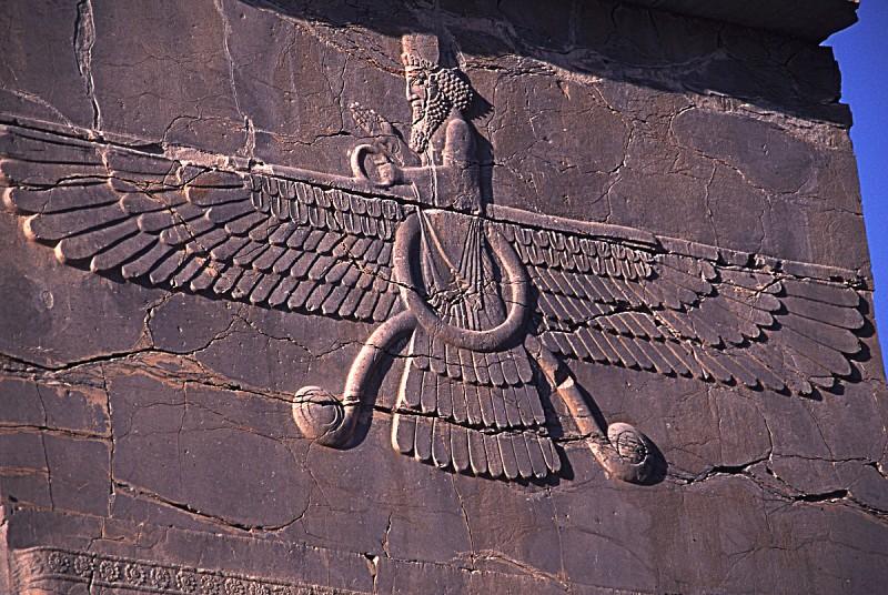 zaratusztriański faravahar
