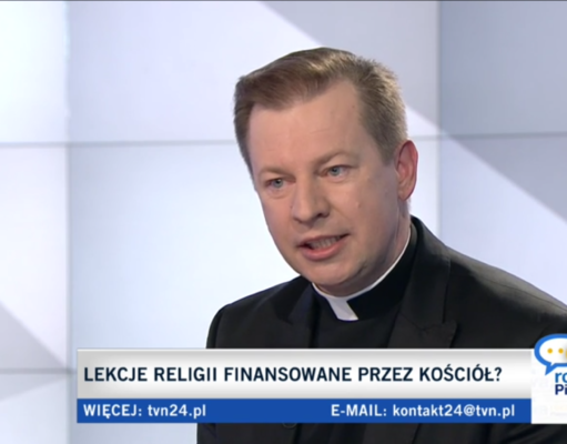 Paweł Rytel-Andrianik w TVN