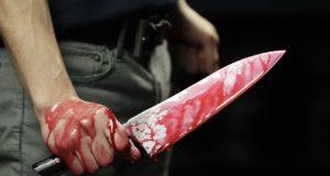 zaatakowany nożem