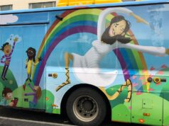 Bluźniercze autobusy w Islandii