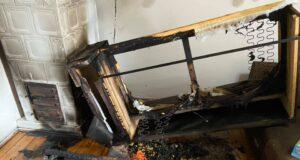 Spłonęło mieszkanie pastora Jakielaszka
