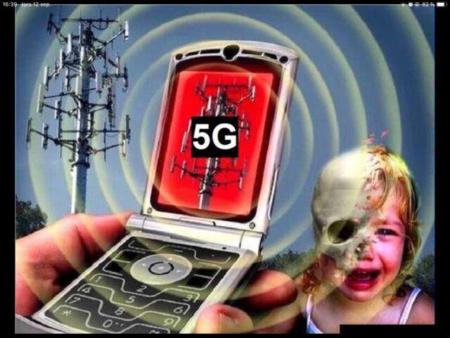 Teorie spiskowe o 5G