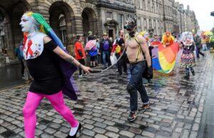 Edynburg - parada zboczeńców